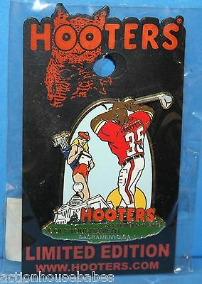 HOOTERS GOLF TOURNAMENT SACRAMENTO CA 2009 FOOTBALL PLAYER SEXY GIRL CADDY PIN