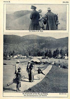 Die Kronprinzessin (Cecilie) auf dem Weg zum Golfplatz auf Ceylon 1910