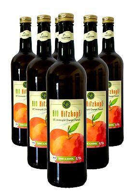 Bio Hitzkopf Winterapfel-Orangen Punsch alkoholfrei 6 x 0,75l Flasche