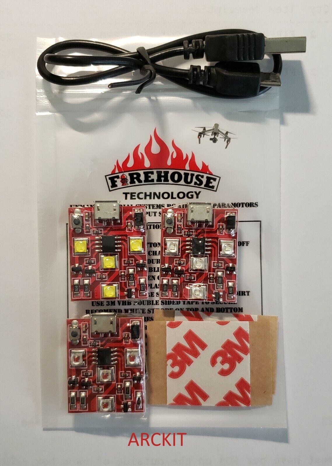 firehouse arc drone strobe light navigation kit