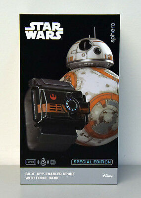 Sphero STAR WARS Roboter BB-8 Droid mit Force Band Special Edition