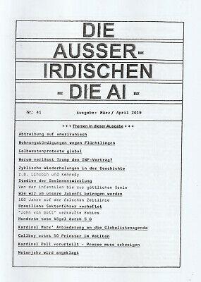 release date c1f86 c26da DIE AUSSERIRDISCHEN - DIE AI HEFT 41 - Esoterik Magazin mit Eva Groenke -  NEU