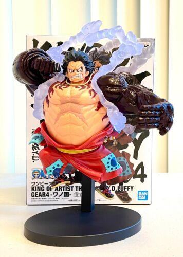 Banpresto One Piece King of Artist Figure Wanokuni Gear 4 Monkey D Luffy BP16814