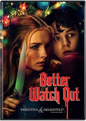 Better Watch Out (Dvd + Slipcase, 2017) HORROR FREE SHIPPING - Horror Movies Watch Halloween