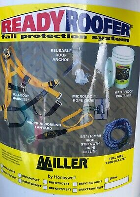 Miller Ready Roofer Fall Protection System Brfk75 75ft