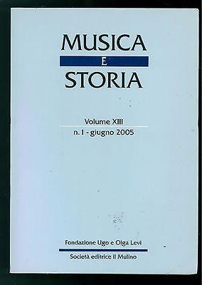 MUSICA E STORIA N. 1 GIUGNO 2005 PINDARO LUCIANO DI SAMOSATA APOLLONIO MEDIOEVO