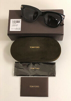 Tom Ford Sunglasses Snowdon TF0237 05B 52mm Black havana Grey gradient (Tom Ford Sunglasses Snowdon)