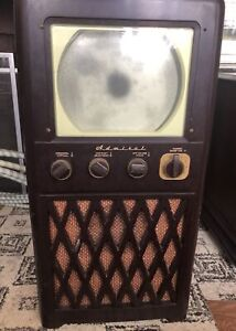 Vintage 1948 T.V., 1950 record/radio cabinet 60s stereo cabinet