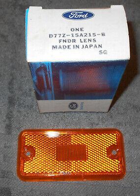 1977-1982 Ford Courier Mazda B1800 B2000 B2200 NOS FRONT FENDER MARKER LAMP LENS