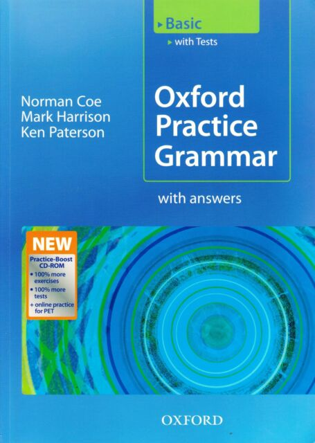 OXFORD PRACTICE GRAMMAR Basic with Answers & CD-ROM I Harrison Paterson Coe @NEW