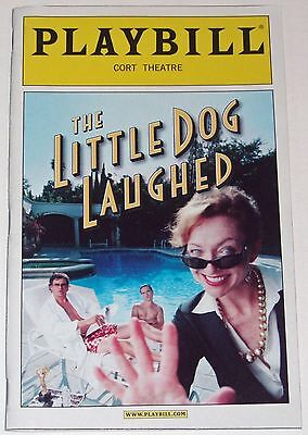 The Little Dog Laughed Opening Night Broadway Playbill, Johnny Galecki