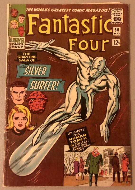 Fantastic Four #50  VG/F