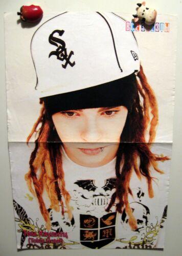 Tom Kaulitz Tokio Hotel magazine poster A3