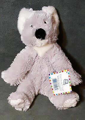 2007 Princess Soft Toys Bears of the World LIL KOALA BEAR Plush Stuffed 8""