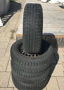 Michelin X Ice 195/65/15 winter tires