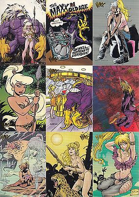 THE MAXX 1996 WILDSTORM COMPLETE BASE CARD SET OF 99 MC
