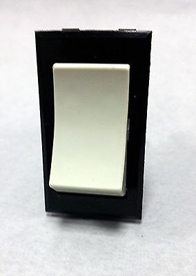 Spst Panel Mount Rocker Switch By Carling 6 A 125 V Or 3 A 250 Volt