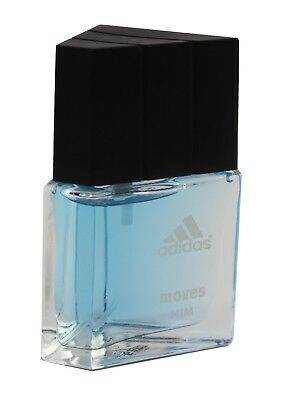 Adidas Mens Edt Spray - ADIDAS MOVES FOR HIM UNBOX 0.50 OZ 15 ML EDT SPRAY BY ADIDAS
