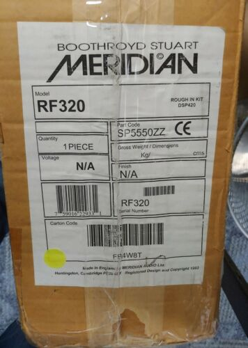 Meridian RF320 Rough-In Kit for 320i and 320f In-Wall Speakers