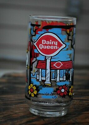 "Dairy Queen Collectors Series 5.5"" Glass DQ Kid Vintage 1976 for sale  Sherman"