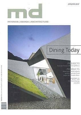 md Magazin 1.2017 +++ interior   design   architecture +++ wie neu +++