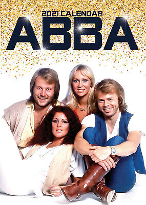 ABBA 2021 A3 POSTER SIZE CALENDAR NEW AND SEALED + FREE UK POSTAGE