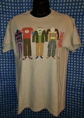 Big Bang Theory Costumes (Big Bang Theory Character Costumes Beige T-Shirt - Adult)