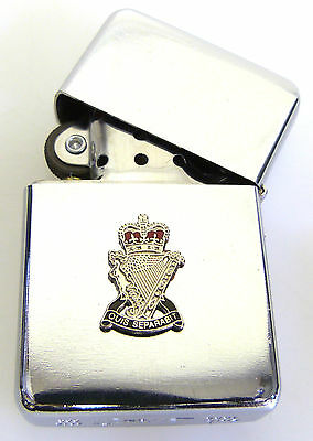 ROYAL ULSTER RIFLES  WINDPROOF CHROME PLATED LIGHTER for sale  Shipping to Ireland