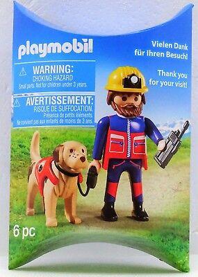 Mountain Rescue + Dog Playmobil Toy Fair Promo Exclusive Edition 2017