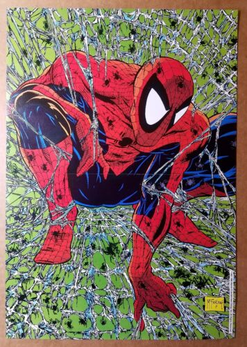 Spider-Man 1 Marvel Comics Poster by Todd McFarlane