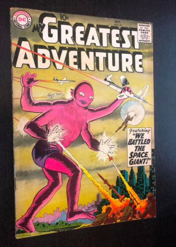 MY GREATEST ADVENTURE #24 (DC 1958) -- VG+