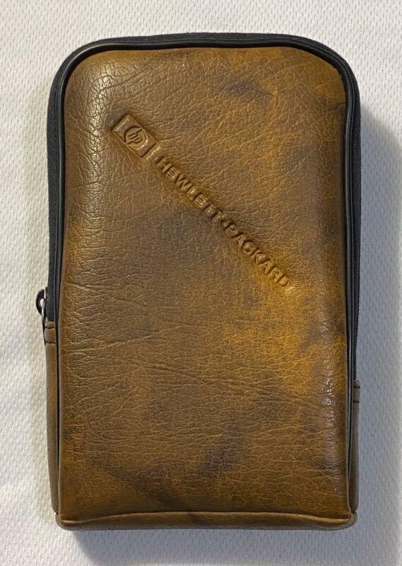 HP Leather Case For HP-67 Scientific Calculator