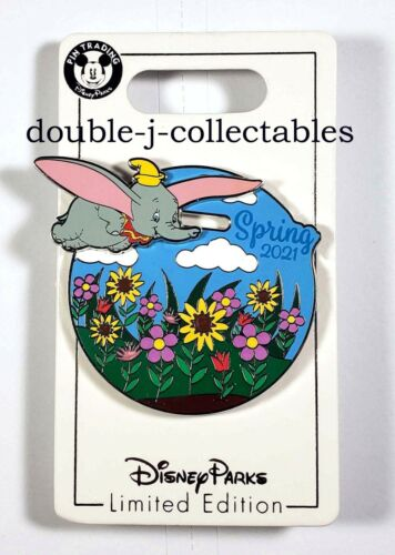Disney Parks Spring 2021 Dumbo LE Pin