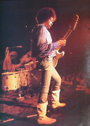 Jimi Hendrix Stages