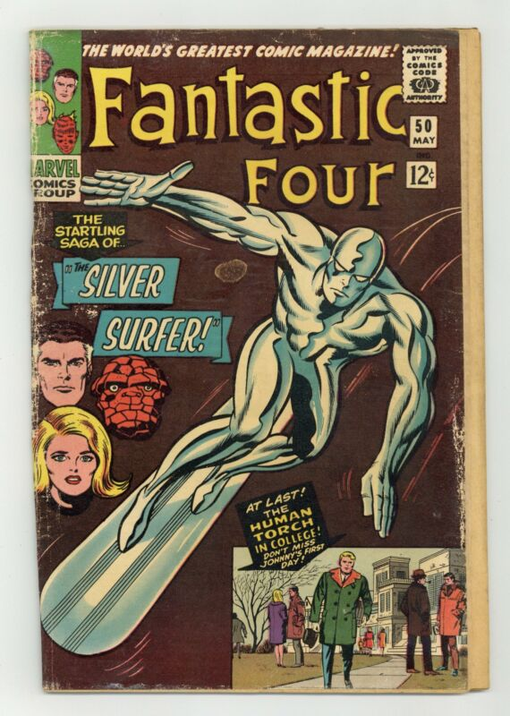 Fantastic Four #50 FR 1.0 1966