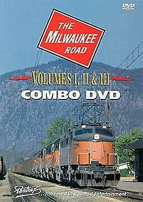 THE MILWAUKEE ROAD VOL 1-3 COMBO PENTREX NEW DVD VIDEO