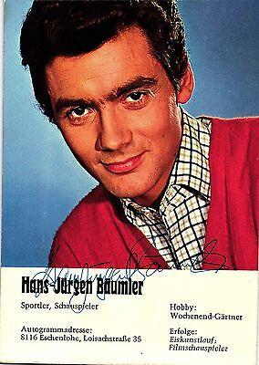 Hans-Jürgen Bäumler, Sportler u. Schauspieler