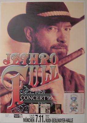 JETHRO TULL CONCERT TOUR POSTER 1999
