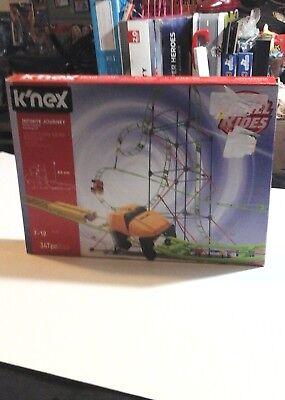 K'NEX ROLLER COASTER SET Thrill Ride Building Set INFINITE JOURNEY Model Kit NEW (Roller Coaster Models)