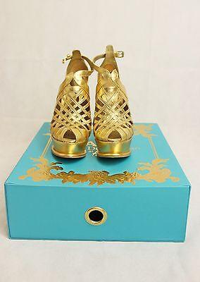 Damen Sandaletten Anna Dello Russo H&M, gebraucht gebraucht kaufen  Hadamar