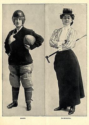 American Girls * Text- & Bilddokumente 1902