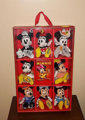 Disney Store Exclusive Minnie Through the Years Plush Set - 75th Anniversary