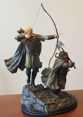 Weta Legolas & Gimli at Amon Hen FOTR LOTR Statue (#215/950)