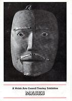 Theatre Programmes - ,masks, - Welsh Arts Council Touring Exhibition (1976) -  - ebay.co.uk