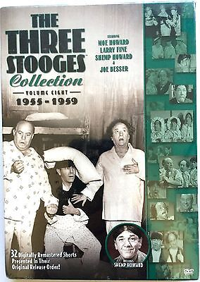 THE THREE STOOGES COLLECTION ~ 1955 to 1958 3 DVD SET 32 REMASTERED SHORTS ~ NEW
