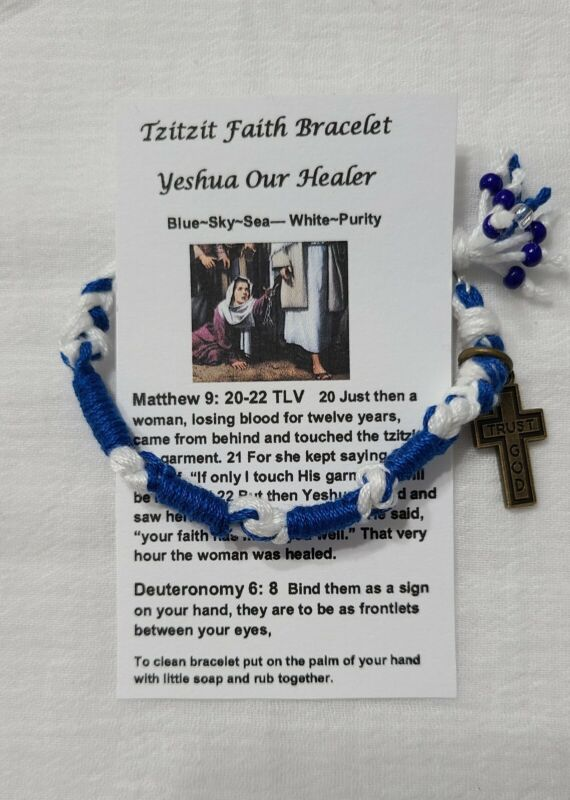 Tzitzit Faith Jewish Bracelet Teresa