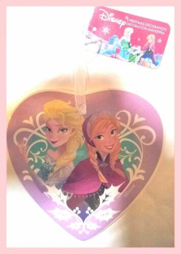 1+Disney+Frozen+Ceramic+Heart+Christmas+Tree+Hanging+Decoration+Anna+Elsa+girls