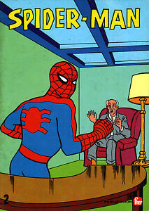 SPIDERMAN-1960s-TV-Show-COLOR-ACTIVITY-Bokk-2-Marvelmania-RARE