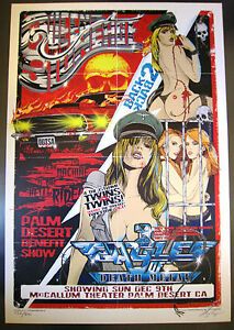 QUEENS OF THE STONE AGE EAGLES OF DEATH METAL PALM DESERT 07  POSTER RHYS COOPER
