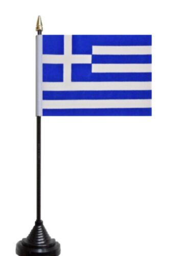 Greece Polyester Table Desk Flag